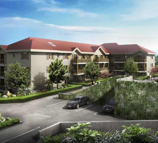 Appartements et villas neufs à Chevry