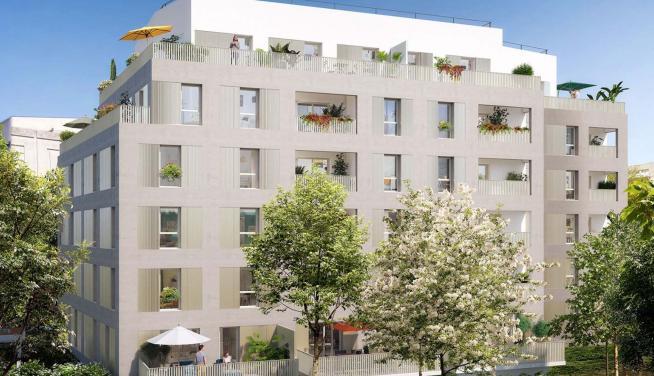 Appartement neuf à Lyon 3