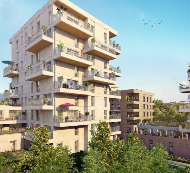 Appartement neuf à Villeurbanne