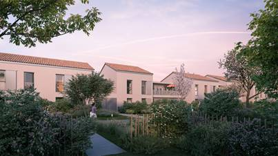 Appartements et maisons neuves à Saint Laurent de Mure
