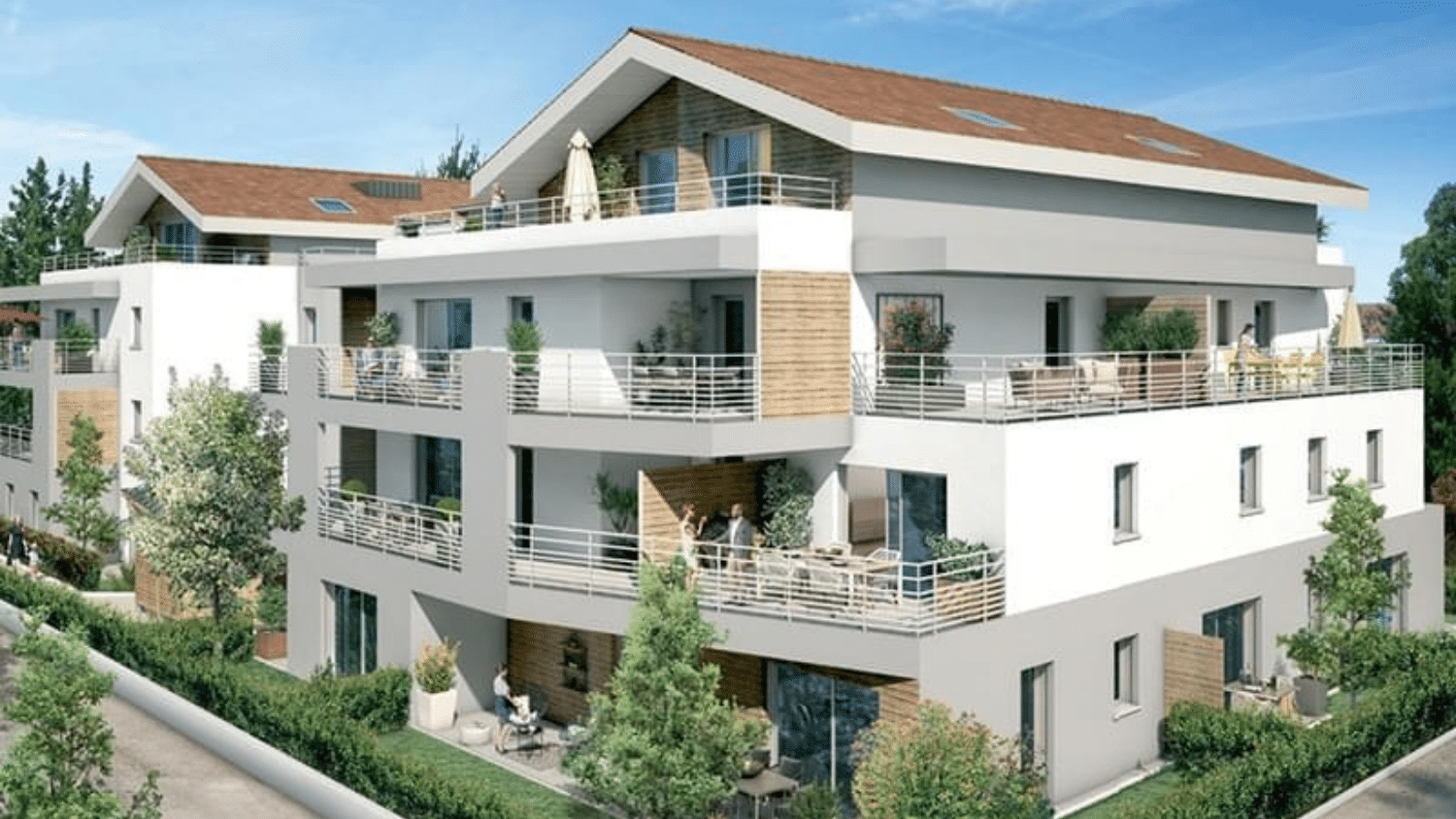 programmes immobiliers Ain à Prevessin-moens proche geneve