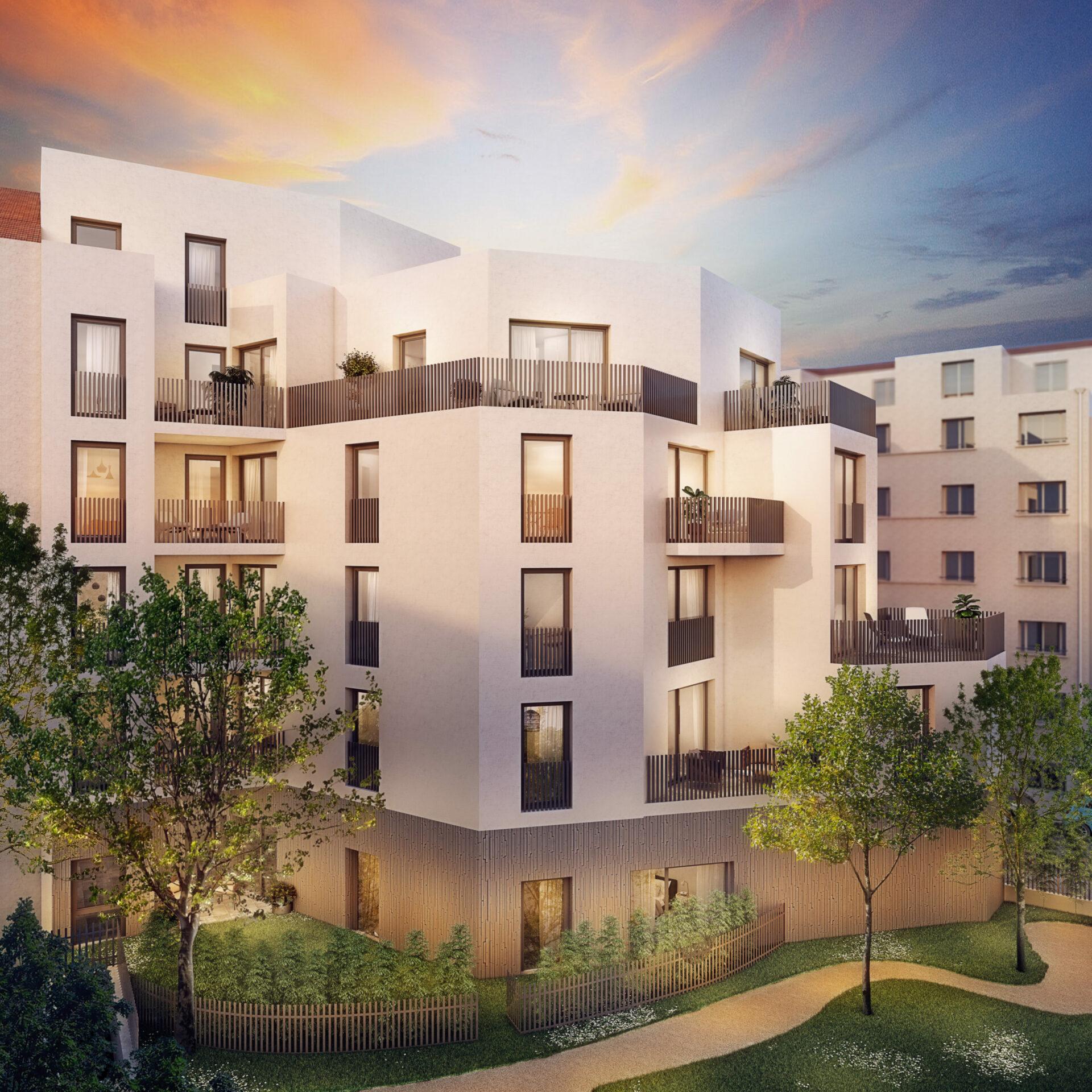 Appartements neufs à Lyon 3