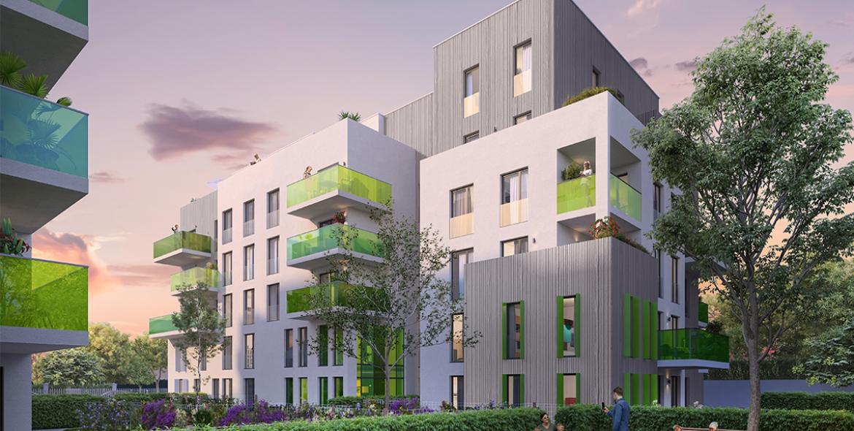 Villeurbanne - programme neuf - green light