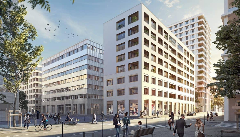 Appartement à Lyon Confluence
