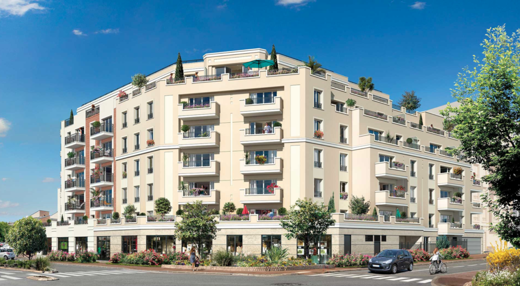 Appartements neuf situé à Gagny