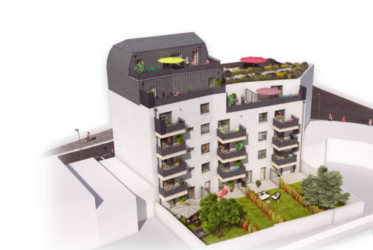 Programme neuf - rooftop - Issy-Les-Moulineaux - Altanova Immobilier