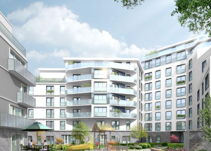 Appartements neufs situé à Aubervilliers