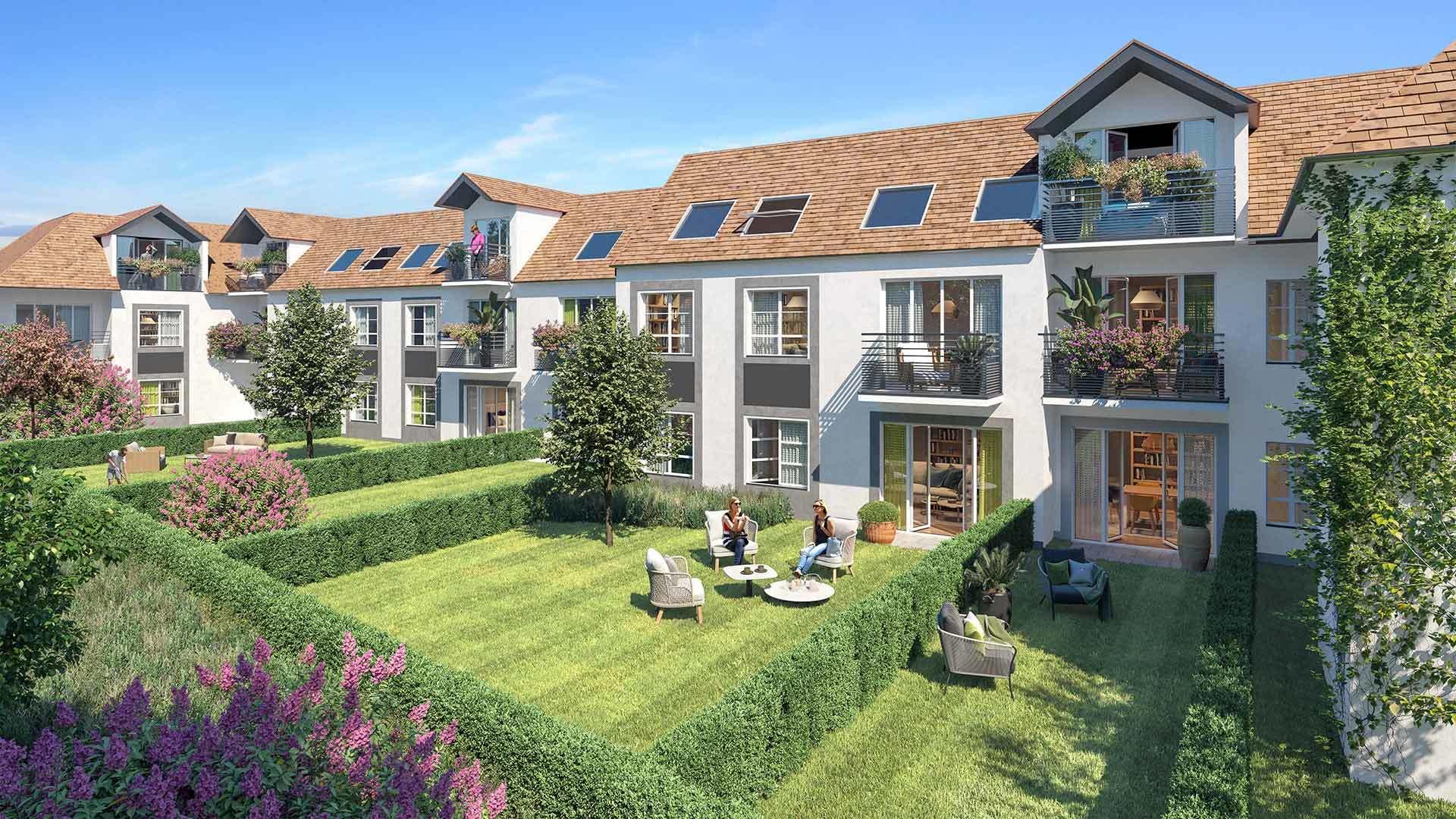 les jardins de la fontaine lucas Pontault-Combault 77340 Altanova Immobilier