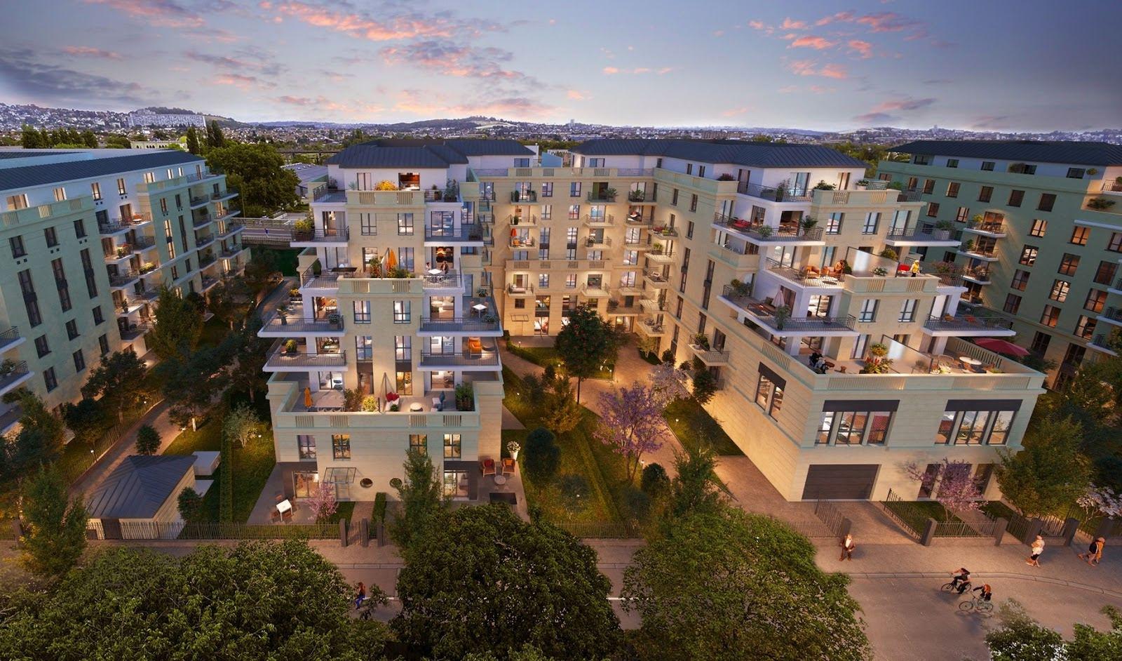 Appartements neufs situé à Argenteuil