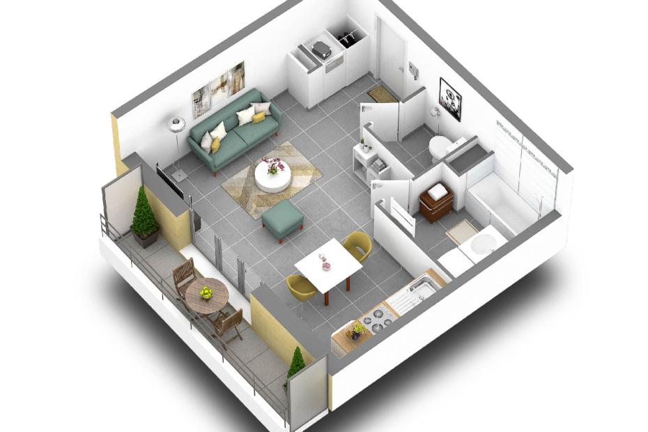 Appartement neuf à Saint-Genis-Pouilly