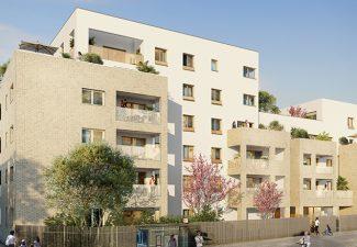 Villa Solal - lyon 8ème -programme neuf