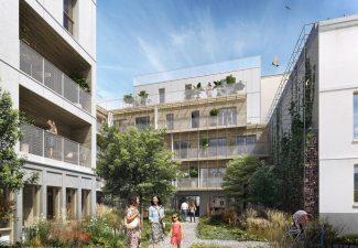 Nouvelle résidence l'Insolite à Paris 20ème - Altanova Immobilier