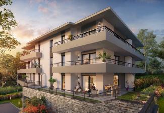 programmes immobiliers Ain à Echenevex proche de genève avec vue sur le mont jura
